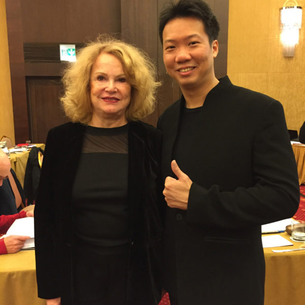 Helene with Joey Yap