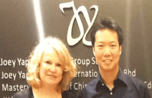 Joey Rapp et Helene Weber, maitre de Feng Shui