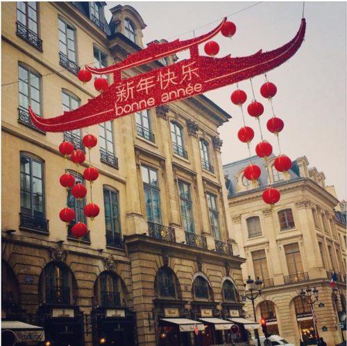 Nouvelle année chinoise à Paris